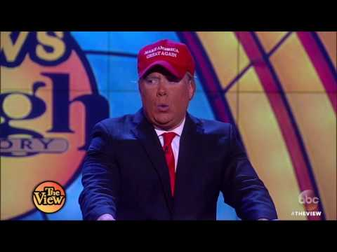 Comedians Compete For Best Pres. Donald Trump Impersonation   The View HD