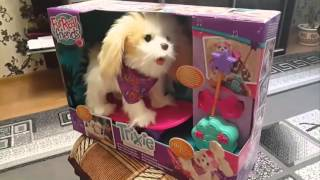 Интерактивная собака Трикси на скейтборде FurReal Friends Hasbro (Хасбро)