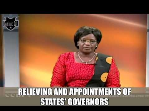 South Sudan news -REPUBLICAN DECREE OF  RELIEVING AND  APPOINTMENTS OF  STATES GOVERNORS