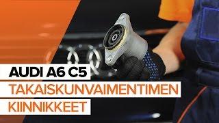 Kuinka korvata Tukivarsi AUDI A6 Avant (4B5, C5) - opetusvideo