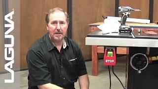 Laguna Tools Fusion Tablesaw Setup - Install The Power Switch - Part 7 Of 18