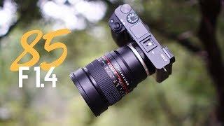 The 250 Samyang 85mm F1 4 Lens