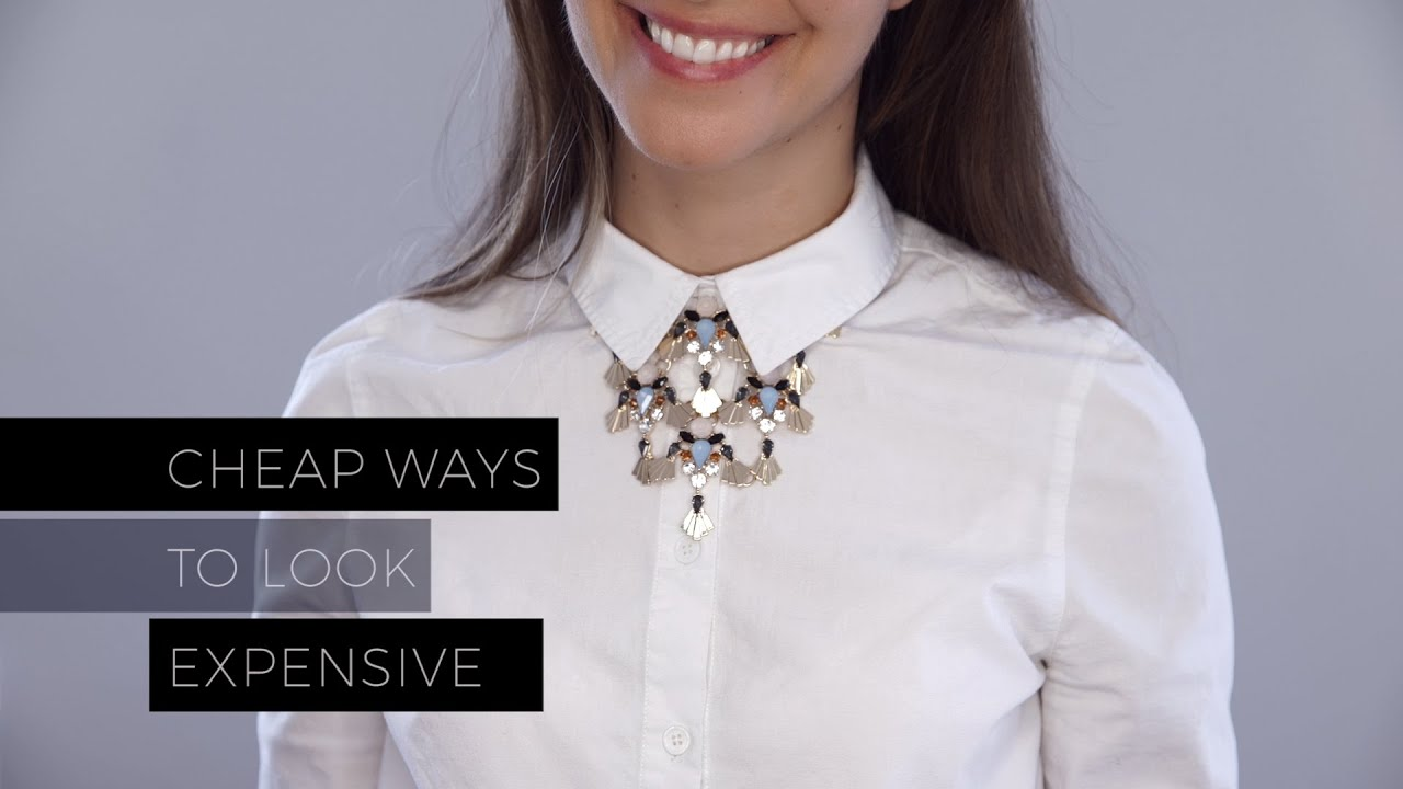 Cheap ways to make your wardrobe look expensive youtube for Cheapest way to build
