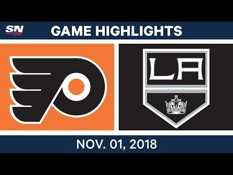 NHL Highlights | Flyers vs. Kings – Nov. 1, 2018