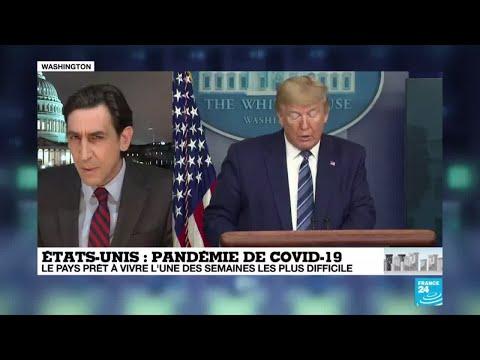 Coronavirus aux États-Unis: Donald Trump en faveur du traitement à la chloroquine
