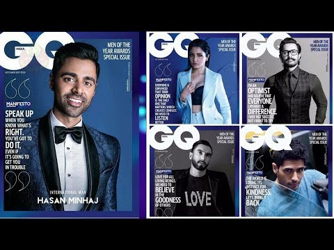 Ranveer, Aamir, Anushka, Sidharth Malhotra On The Cover Page Of The GQ Magazine