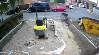 Block Paving. Time Lapse. Oaklands-landscaping.com