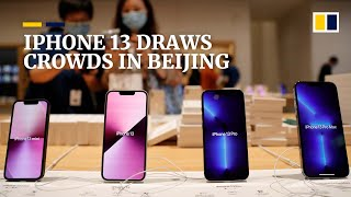 Download China iPhone 13 launch draws crowds as phone fans eye Apple's new handsets