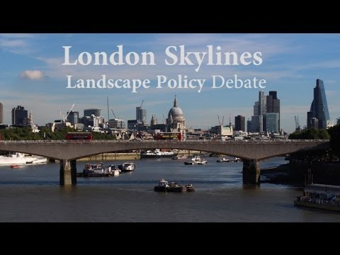 Landscape Institute LI London Branch Skylines Future Policy Debate 23rd October 2013