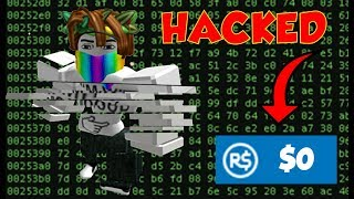 I HaCkEd my Dads ROBLOX account and Destroyed IT