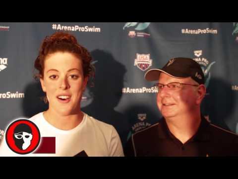 Allison Schmitt on living with Michael Phelps