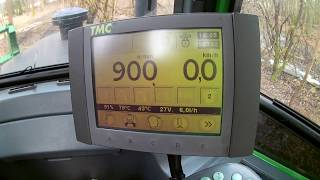 ATAT: Forwarder JD 1110D - Lekcja piata: Sterowanie HDSem