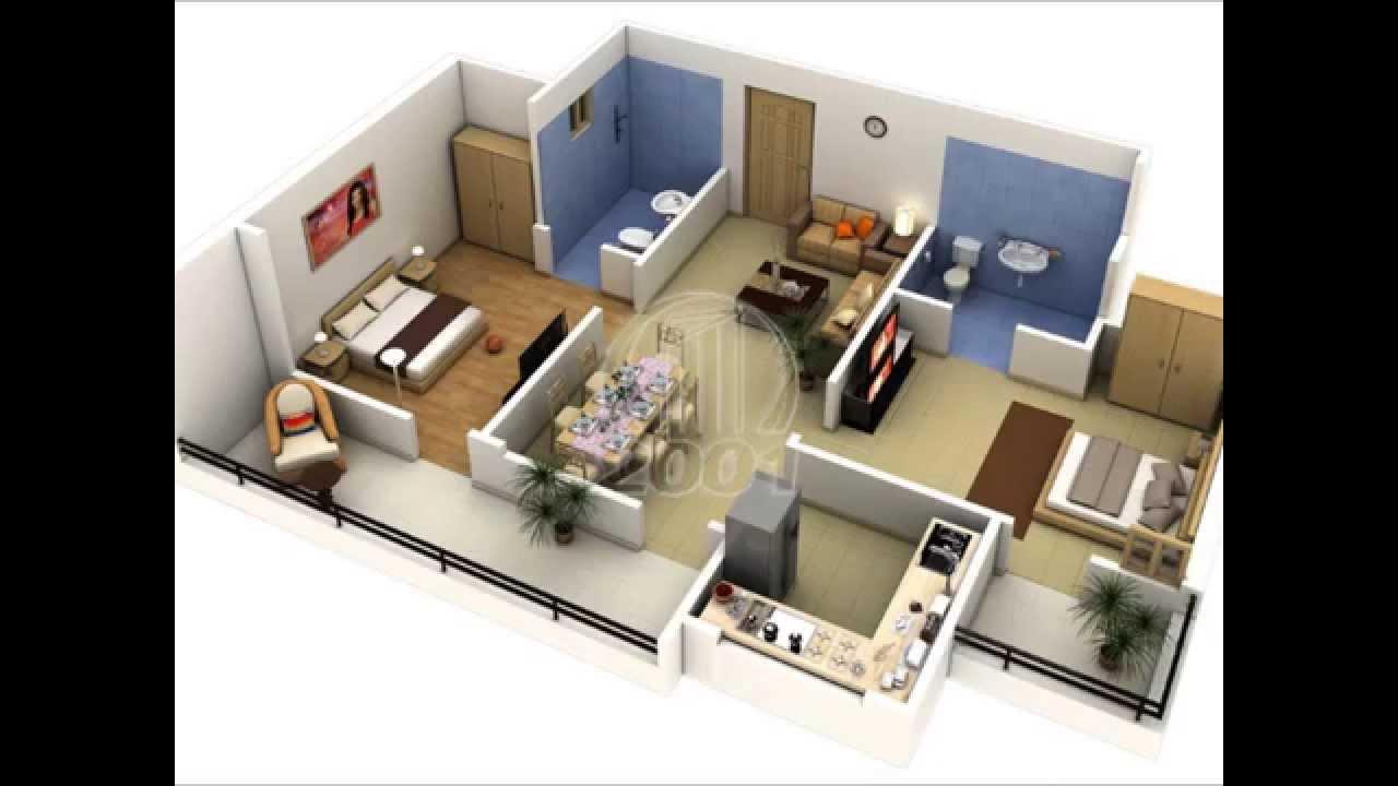 Nuevos dise os de interior smo de casas y apartamentos for Maquetas de apartamentos modernos