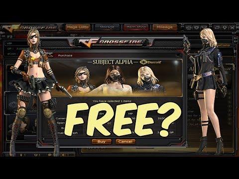 Crossfire PH: How I Get Free VIP Subject Alpha
