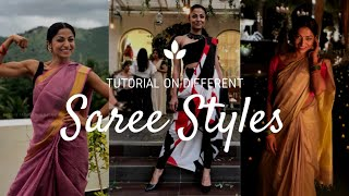 How to wear Saree । Indian & Western styles । easy in minutes