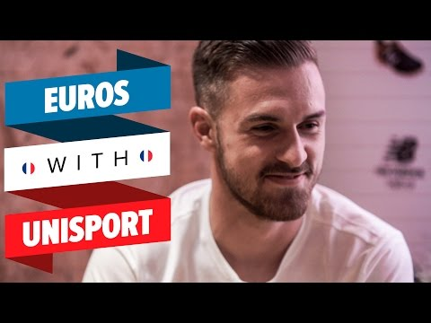 Aaron Ramsey Speed Quiz   Wales v England EUROs with Unisport #7