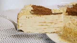ТОРТ из ТРЕХ ИНГРЕДИЕНТОВ БЕЗ ДУХОВКИ Потрясающий Бюджетный Торт без выпечки