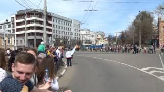 Первомайская эстафета г.Иваново 01.05.2017 Мужчины
