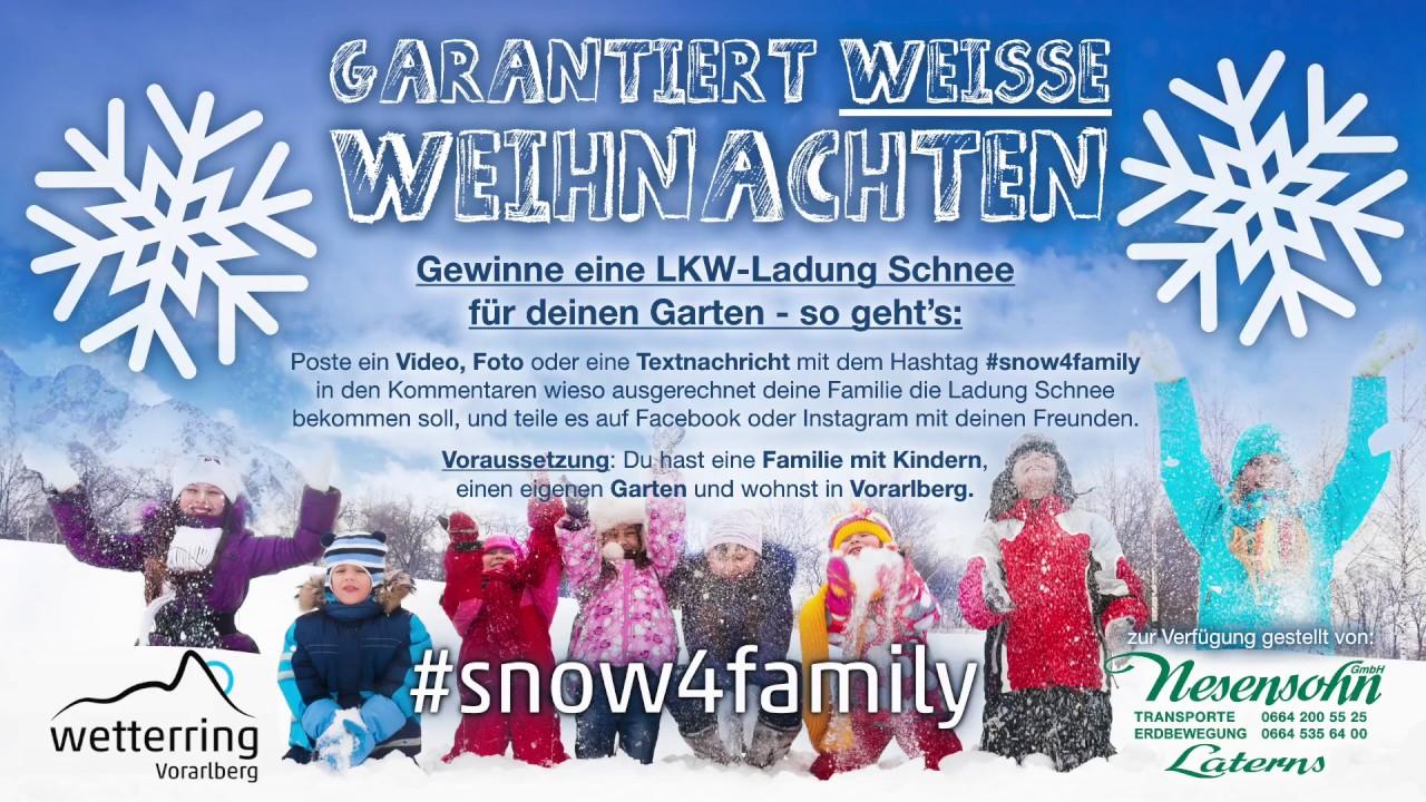 Garantiert Weisse Weihnachten! - YouTube
