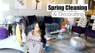 Decorate With Me! Spring Cleaning & Decorating - MissLizHeart