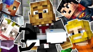 SUPERHERO COPS AND ROBBERS HIDE AND SEEK MOD - Minecraft Mod (SUPER PRISON) | JeromeASF