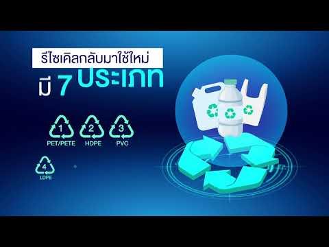 7 ประเภทพลาสติก กับพลังการ Recycle ช่วยลดปริมาณขยะโลก