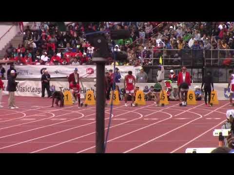 2019 Texas UIL State Meet 6A 100m Dash — Matthew Boling 10.13 (Wind Legal +1.3 m/s)