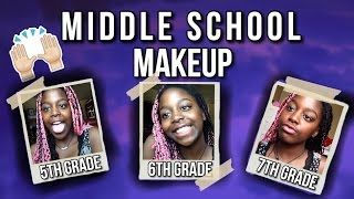 middle school makeup tutorial 5th 6th and 7th grade   doreenthediva