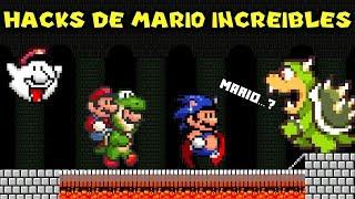 6 Hacks de Mario tan Increíbles que parecen hechos por Nintendo - Pepe el Mago