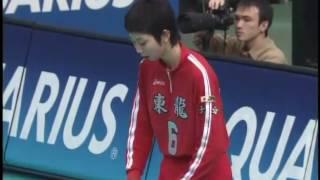 2007 03 25 第38回春高バレー女子決勝「大阪国際滝井vs東九州龍谷」