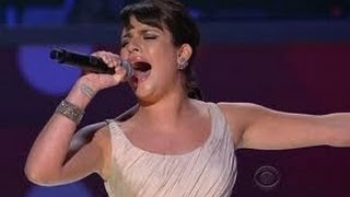 Lea Michele Performs 'Cannonball' on Ellen Show