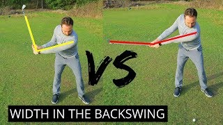 HOW TO GET WIDTH IN YOUR GOLF SWING AND INCREASE YOUR POWER