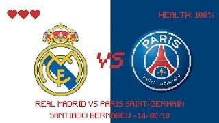 ⚽️🎮 ROUND OF 16 : REAL MADRID vs PARIS SAINT-GERMAIN