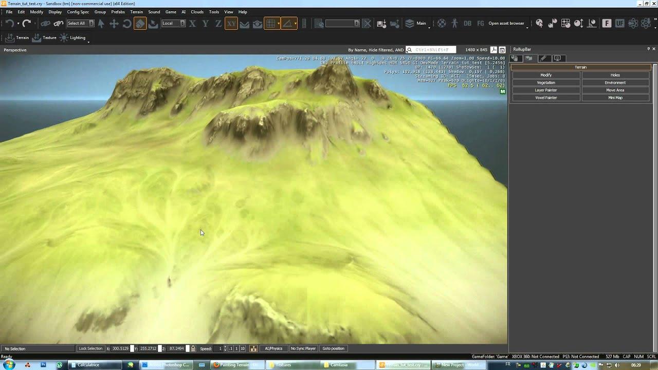 CRYENGINE | Terrain Techniques - Mudbox + Worldmachine