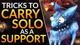 SIMPLE TRICKS to DESTROY LANE: Proven Tips to Carry Solo Queue as a Support | Dota 2 Ranked Guide