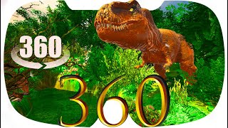 Dino 360 VR Video   Thanks To All Subscribers For Waiting