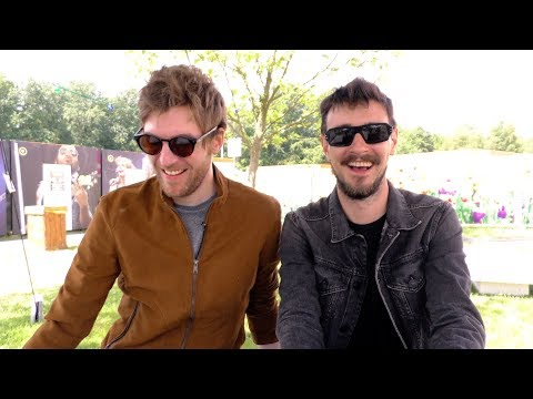 Kodaline interview - Mark and Jason...