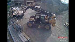Construction Security System Can Help Deter Workplace Negligence