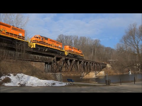 Marquette Rail's Turn Job - a Day in the Life at a Big Time Shortline