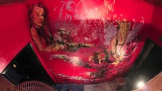LA MURAL FRONT, Stuck 731, Araceli Arreola, graffiti, time lapse