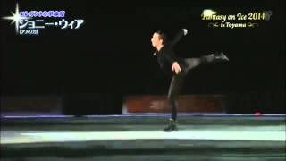 Johnny Weir - Schindler's List - Fantasy on Ice 2014,Toyama