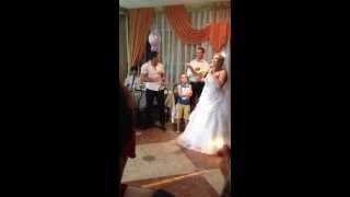 мой подарок мужу на свадьбу!!! песня 2013