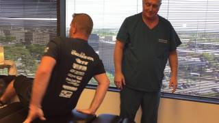 Army Veteran With Chronic Pain Gets Spinal Decompression With New Padded Pins