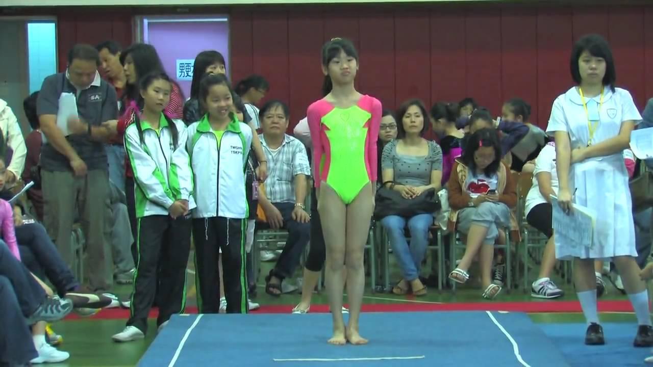 全港小學體操邀請賽 女子自由體操 40