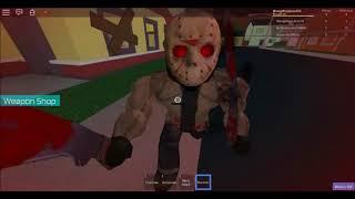 ROBLOX Jason Voorhees Simulator: Playing as Jason!