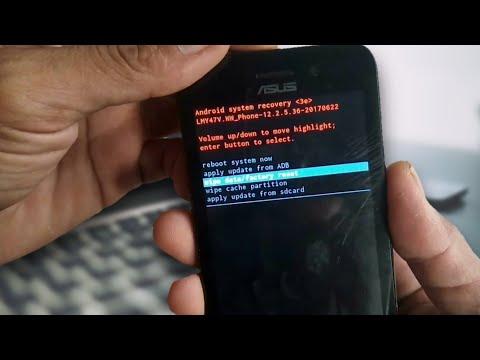 Cara Hard Reset/Format HP Asus Zenfone Go X014D (ZB452KG)