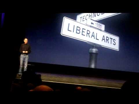 Steve Jobs on tech and liberal arts