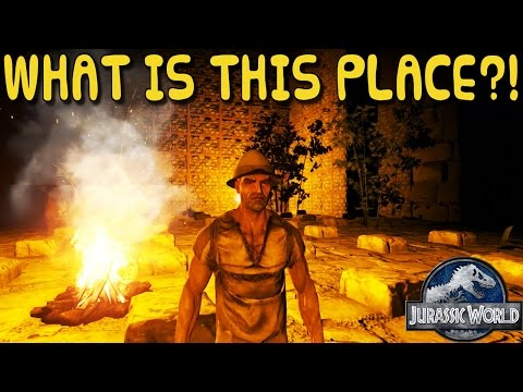 ARK:Survival Evolved Xbox One - JURASSIC ARK CHALLENGE! - WHAT IS THIS PLACE? [ 1 ]