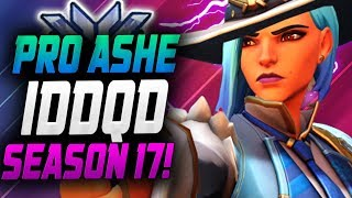 IDDQD PRO ASHE! ROLE LOCK GAMEPLAY!