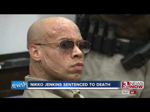 Nikko Jenkins sentenced to death